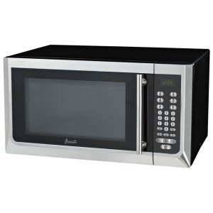 Avanti1.6 CF Touch Microwave - Black w/Stainless Steel Door Front and Handle