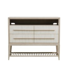 Meyers Park 4 Drawer Media Chest