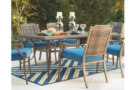 RECT Dining Table w/UMB OPT