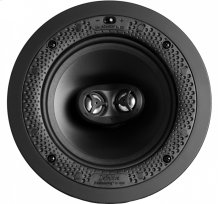 """Disappearing Series Round Stereo 6.5"""" In-Wall / In-Ceiling Speaker"""