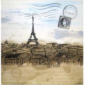 Art: Postcard from Paris