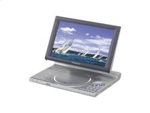"Portable DVD-Audio/Video Player with Adjustable Built-In 9"" Diagonal Widescreen Display"