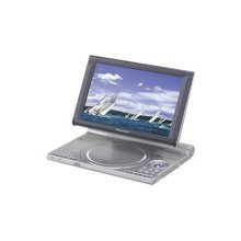 """Portable DVD-Audio/Video Player with Adjustable Built-In 9"""" Diagonal Widescreen Display"""