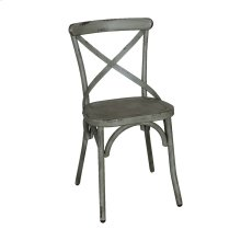 X Back Side Chair - Green