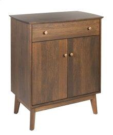 Sideboard w/1 Drawer & 2 Doors, Wood Sides & Doors