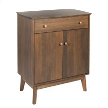 Sideboard w/1 Drawer & 2 Doors, Wood Sides & Doors