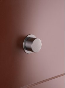 Push button for Geberit (Serie 100/200/300/320), If (installation parts IF- artnr 7925461 and 7925408), Sigma, Kappa, Omega and Delta, with pneumatic flush - Grey