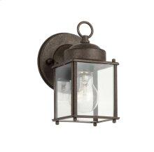 """8.25"""" 1 Light Wall Light Tannery Bronze"""
