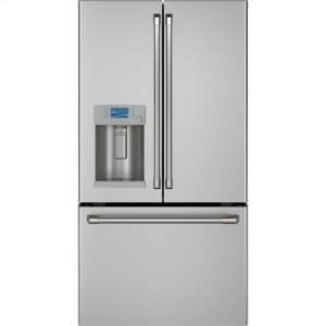 Cafe AppliancesENERGY STAR ® 22.1 Cu. Ft. Smart Counter-Depth French-Door Refrigerator with Hot Water Dispenser