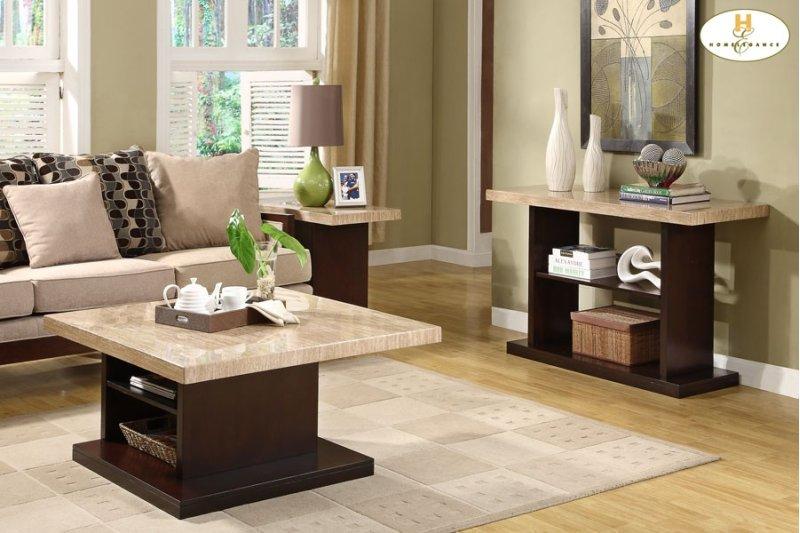 322605 in by homelegance in statesboro ga sofa table with faux sofa table with faux marble top watchthetrailerfo