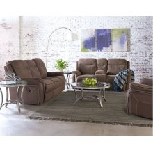 Motion Manual Loveseat Console