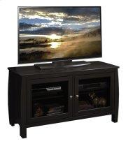 "Curve 45"" TV Cart, Mocha Product Image"