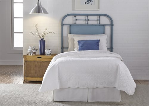 Full Metal Headboard - Blue