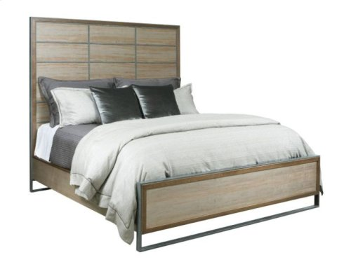 Matrix Panel Cal King Bed Package