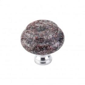 Paradiso Granite Knob 1 3/8 Inch - Chrome