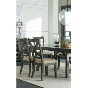 Uph Grey Leg Side Chair