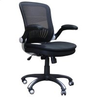 DC#301 Black Fabric Desk Chair Product Image