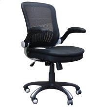 DC#301 Black Fabric Desk Chair