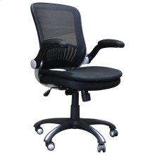 DC#301 Black Fabric Desk Chair