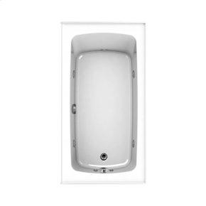 "Easy-Clean High Gloss Acrylic Surface, Rectangular, AirMasseur® - Whirlpool Bathtub, Standard Package, 32"" X 60"""