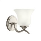 Wedgeport Collection Wall Sconce 1Lt Fluorescent NI Product Image