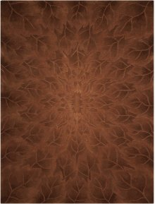 Moda Mod03 Tobacco Rectangle Rug 3'6'' X 5'6''