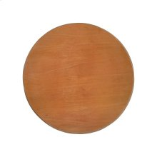 Table Top (36-inch Round) in Mahogany