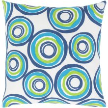 "Miranda MRA-005 18"" x 18"" Pillow Shell with Down Insert"