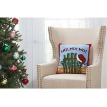 "Home for the Holiday Yx095 Multicolor 18"" X 18"" Throw Pillows"