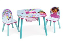 Dora Table & Chair Set with Storage - Style-1