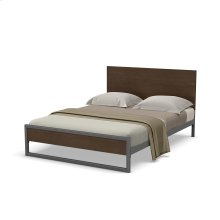 Lidgie Regular Footboard Bed - Queen