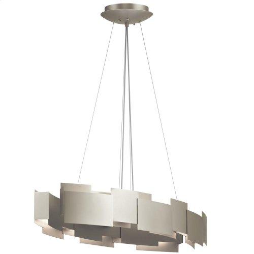 Moderne Collection Moderne 2 Light LED Oval Chandelier/Pendant SN