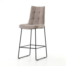 Bar Stool Size Savile Flannel Cover Camile Bar + Counter Stool