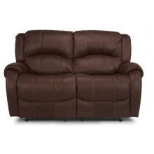 Pure Comfort Fabric Reclining Loveseat
