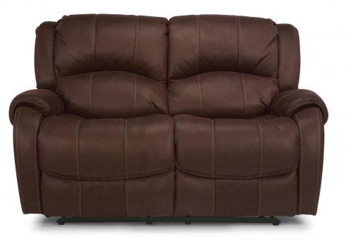 Pure Comfort Fabric Reclining Loveseat