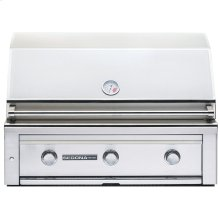 """36"""" Sedona by Lynx Built in Grill, 3 SS Tube Burners NG"""
