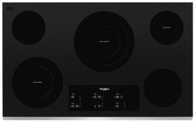 36-inch Electric Ceramic Glass Cooktop with Triple Radiant Element