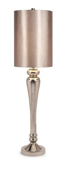 Rennes Tall Mercury Glass Table Lamp