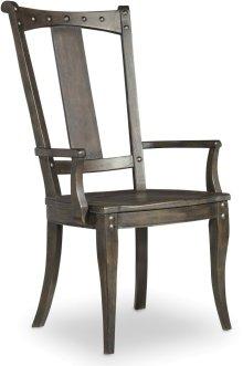 Vintage West Splatback Arm Chair