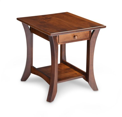 Park Avenue 1-Drawer Open End Table