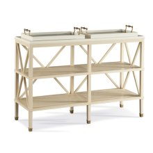 330-770-00 Tiered Tray Console