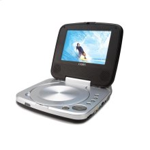 """5.6"""" PORTABLE DVD PLAYER WITH SWIVEL SCREEN"""