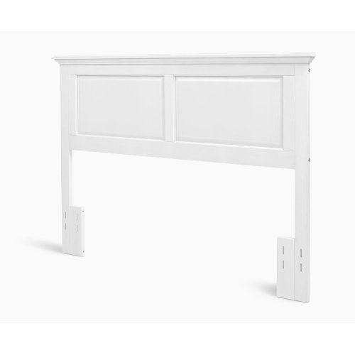 Twin Cottage Style Headboard in Gloss White Finish