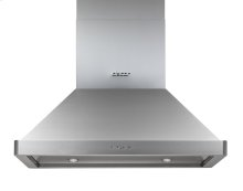 """Discovery 36"""" Island Ceiling-Mounted Hood, in Stainless Steel"""