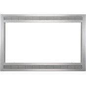 Grey/Stainless 27'' Microwave Trim Kit