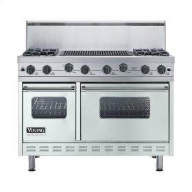"Sea Glass 48"" Sealed Burner Range - VGIC (48"" wide, four burners 24"" wide char-grill)"