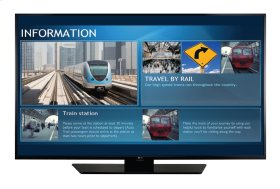 "49"" Class (49.0""/1382mm diagonal) LX540S TV Tuner Built-In Digital Signage"