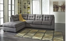 Maier RAF Sectional Sofa w/LAF Chaise - Charcoal Collection