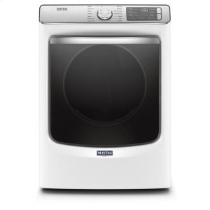 MaytagMaytag® Smart Front Load Electric Dryer with Extra Power and Advanced Moisture Sensing with industry-exclusive extra moisture sensor - 7.3 cu. ft. - White