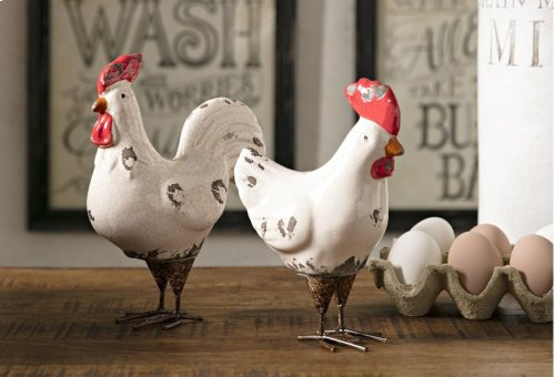 Quinn Roosters - Set of 2